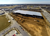 Aerial Images from Manheim Pike Construction Site