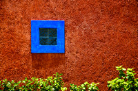 Blue Window in Mexico