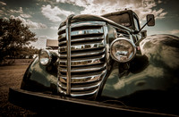 Vintage Federal Car Painterly