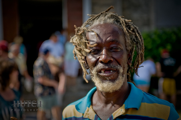 Man in Jamaica
