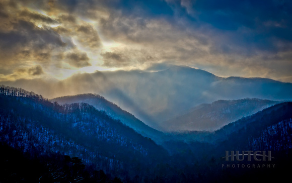 Sunrise Over the Great Smokies